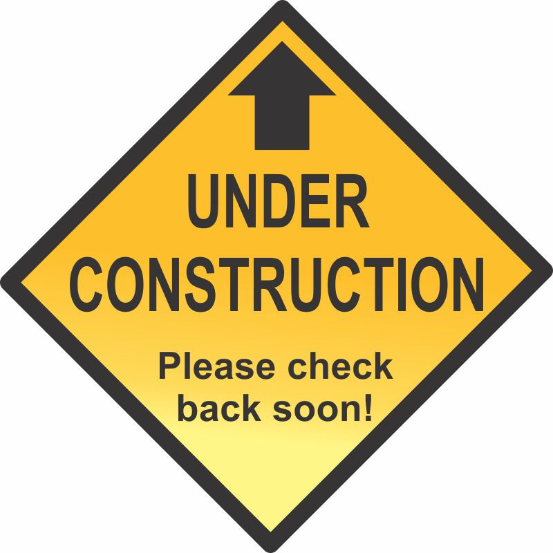 Under Construction - Please check back soon!